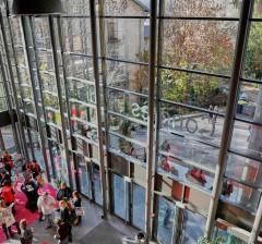 Hall d'entrée du Centre des Congrès