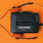 incentive au son d'un walkman