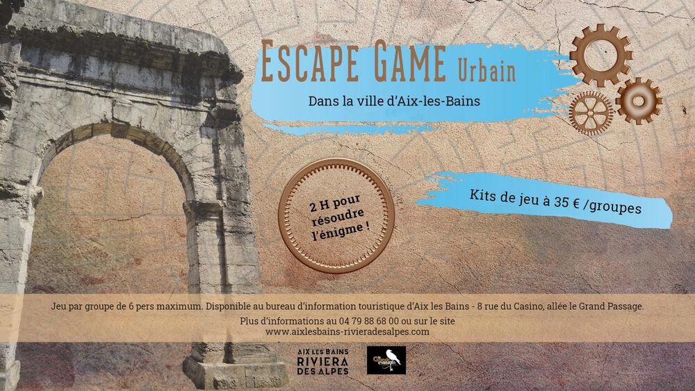 escape game urbain et culturel à Aix les Bains